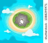 vector cartoon style background ... | Shutterstock .eps vector #1088295971