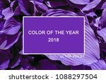 trendy color cncept set with... | Shutterstock . vector #1088297504