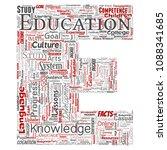 vector conceptual education ... | Shutterstock .eps vector #1088341685