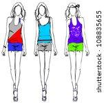vector illustration sketch of... | Shutterstock .eps vector #108835655