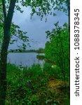 landscape of lake kuonanjarvi ... | Shutterstock . vector #1088378345