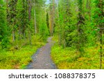 view of a footpath in the... | Shutterstock . vector #1088378375