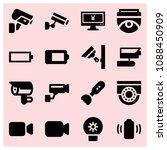 filled technology icon set such ...   Shutterstock .eps vector #1088450909