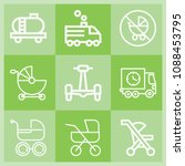 outline transport icon set such ... | Shutterstock .eps vector #1088453795