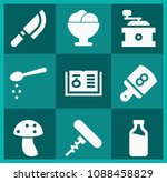 filled food icon set such as... | Shutterstock .eps vector #1088458829