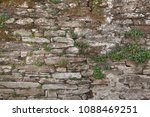 old stone masonry. background... | Shutterstock . vector #1088469251