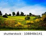 french landscape haute vienne... | Shutterstock . vector #1088486141