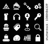 filled set of 16 tool icons... | Shutterstock .eps vector #1088486339