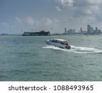 editorial use only  speed boat... | Shutterstock . vector #1088493965
