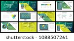 business presentation templates.... | Shutterstock .eps vector #1088507261