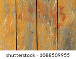 wooden texture painted board  ... | Shutterstock . vector #1088509955