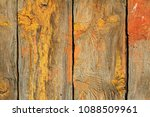 wooden texture painted with... | Shutterstock . vector #1088509961