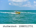 editorial use only  speed boat... | Shutterstock . vector #1088512751