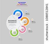infographics element vector... | Shutterstock .eps vector #1088512841