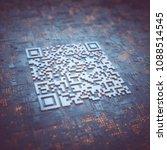 3d illustration  digital data... | Shutterstock . vector #1088514545