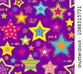 seamless wallpaper. abstract ... | Shutterstock .eps vector #1088515751