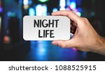 hand holding placard with word ... | Shutterstock . vector #1088525915