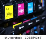digital printing press | Shutterstock . vector #108854369