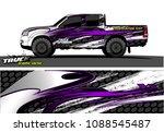 truck wrap design vector.... | Shutterstock .eps vector #1088545487