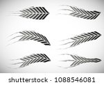 high speed. abstract symbol of... | Shutterstock .eps vector #1088546081