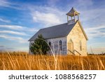 Abandoned Church On The Kansas...