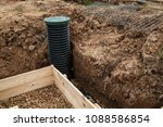 inspection well  rubble and... | Shutterstock . vector #1088586854