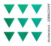 vector gradient reverse... | Shutterstock .eps vector #1088622449