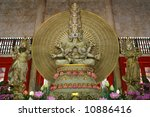 inside of bright hill temple ...   Shutterstock . vector #10886416