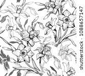 Monochrome Spring Botanical...