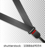 seat belt icon isolated on... | Shutterstock .eps vector #1088669054