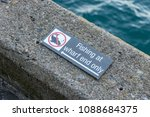 """fishing only at wharf end"" no... 