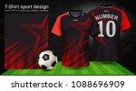 soccer jersey template  sport t ...   Shutterstock .eps vector #1088696909