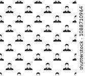 worker avatar pattern vector...