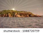 island in the sun concept ... | Shutterstock . vector #1088720759