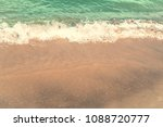 retro beach  the background... | Shutterstock . vector #1088720777
