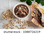 rice bean cuttlefish porridge   ... | Shutterstock . vector #1088726219