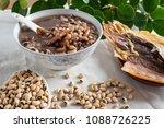 rice bean cuttlefish porridge   ... | Shutterstock . vector #1088726225