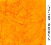 Bright Orange Water Color...
