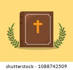 easter celebration design | Shutterstock .eps vector #1088742509
