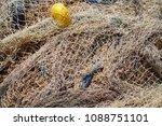 multi colored nylon fishing... | Shutterstock . vector #1088751101