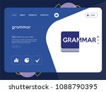quality one page grammar...   Shutterstock .eps vector #1088790395