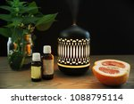 the ultrasonic aroma diffuser... | Shutterstock . vector #1088795114