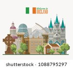 ireland vector illustration... | Shutterstock .eps vector #1088795297