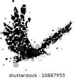 An Abstract Crow Or Raven Made...