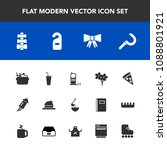 modern  simple vector icon set... | Shutterstock .eps vector #1088801921