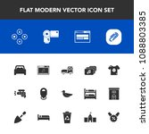 modern  simple vector icon set... | Shutterstock .eps vector #1088803385