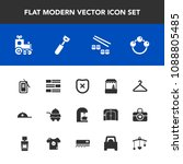 modern  simple vector icon set... | Shutterstock .eps vector #1088805485
