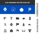 modern  simple vector icon set... | Shutterstock .eps vector #1088805665