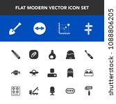 modern  simple vector icon set... | Shutterstock .eps vector #1088806205