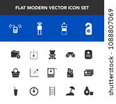 modern  simple vector icon set... | Shutterstock .eps vector #1088807069